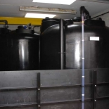 Two 5000 litre tanks joined together