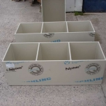 Drum bunds 3 compartments